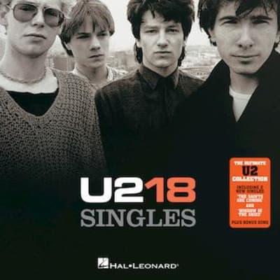 U2 18 Singles Songbook