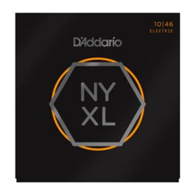 D'Addario NYXL1046 10-46 Nickel Light Electric Guitar Strings