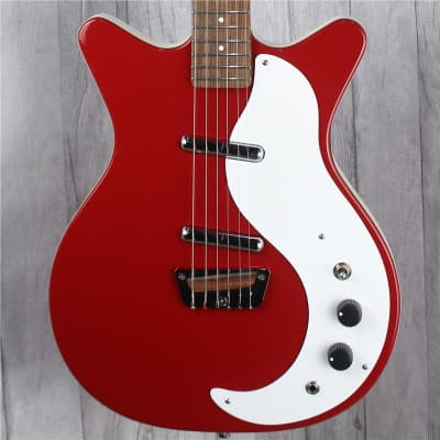 Danelectro Stock '59 Electric Guitar, Vintage Red, Second-Hand for sale