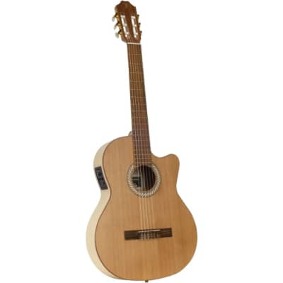 Juan Salvador 1CE Open Pore Electro-Acoustic Classical Guitar for sale