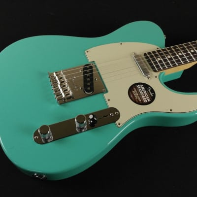 Fender Limited Edition American Standard Telecaster with Painted Headcap Seafoam Green - Magnificent 7 (314) for sale