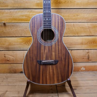 Washburn WP55NS Parlour Guitar - Koa