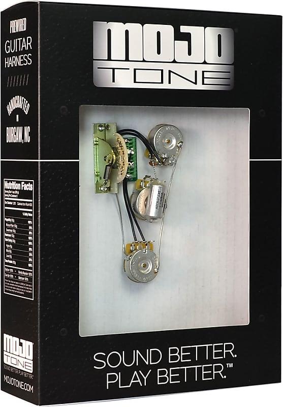 mojotone solderless strat blender guitar wiring harness reverb. Black Bedroom Furniture Sets. Home Design Ideas