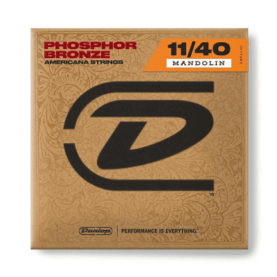 Dunlop DMP24 Phosphor Bronze Mandolin String - 0.024