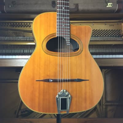 CSL Maccaferri gypsy jazz guitar d hole for sale
