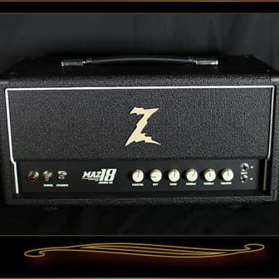 Dr. Z Maz 18 Jr NR Head Black with White Piping