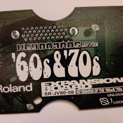 Roland SR-JV80-08 Keyboards of the 60's & 70's Expansion Board