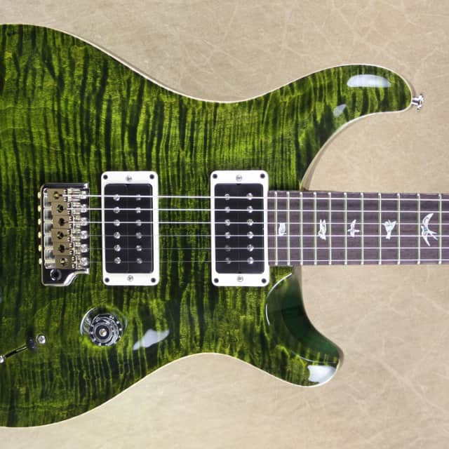 PRS Paul Reed Smith Custom 24 Jade 10 Top Rosewood Neck Guitar image