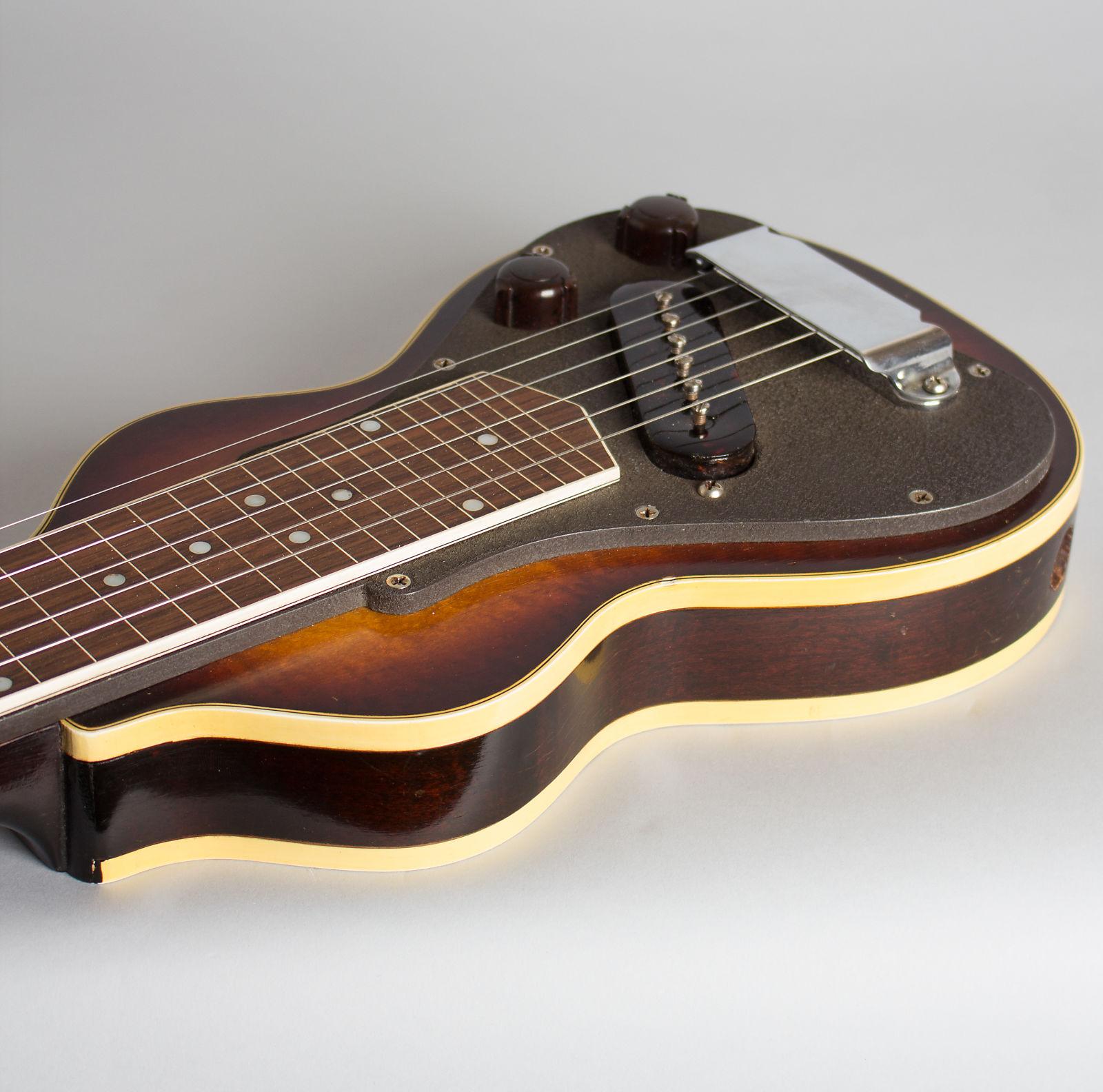 Gibson  EH-185 Lap Steel Electric Guitar (1941), ser. #86440, original black hard shell case.