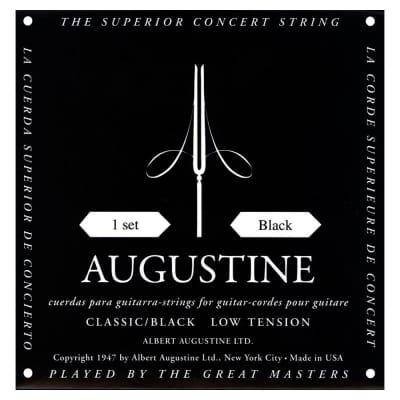Augustine Classic Black Strings Low Tension