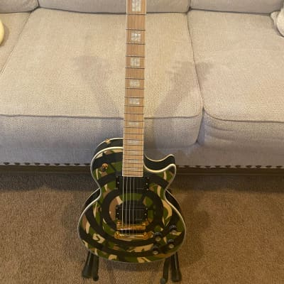 Epiphone Zakk Wylde Les Paul Custom Camo Bullseye for sale