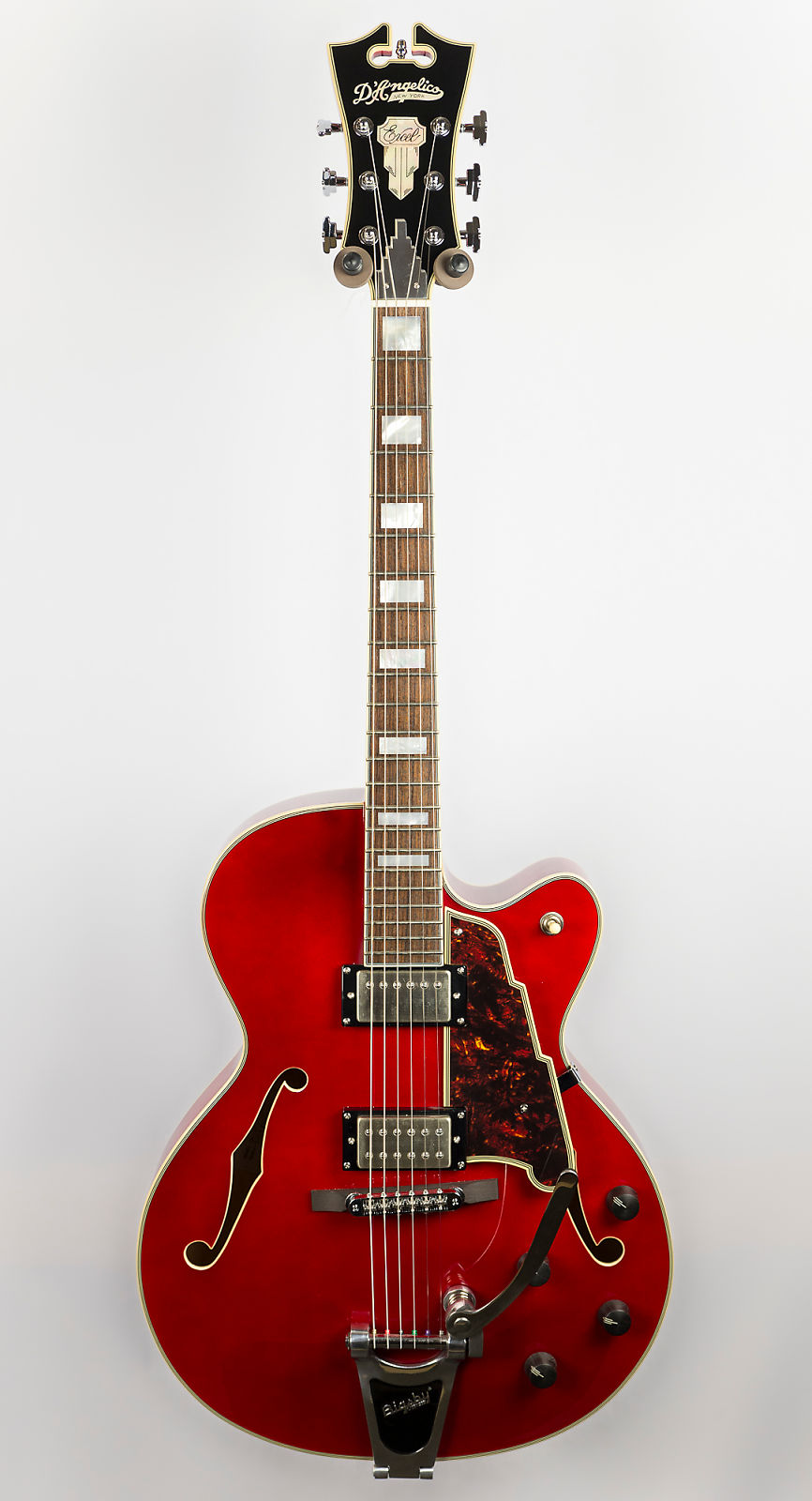 d angelico ex 175 archtop guitar with bigsby
