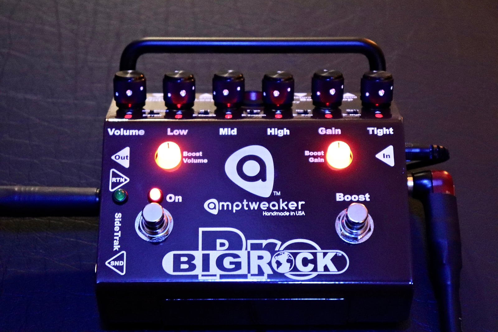 Amptweaker Big Rock Pro Distortion Pedal