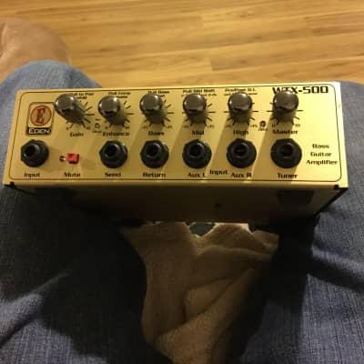 REDUCED: Eden Amplification WTX500 Bass Head