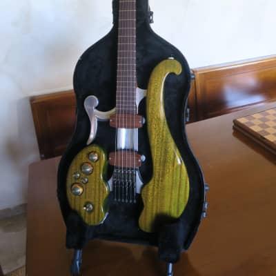 DiDonato elettrica mancina artigianale con sistema MIDI for sale