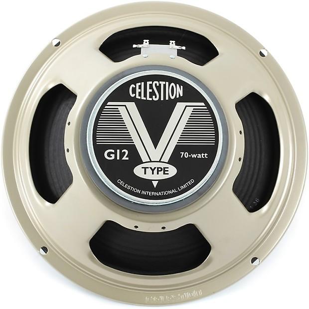 celestion g12 v type 12 70 watt replacement guitar speaker 8 reverb. Black Bedroom Furniture Sets. Home Design Ideas