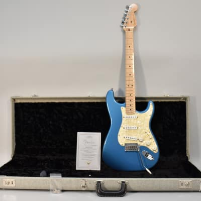 1997 Fender Custom Shop American Classic Lake Placid Blue Stratocaster Electric Guitar w/OHSC for sale