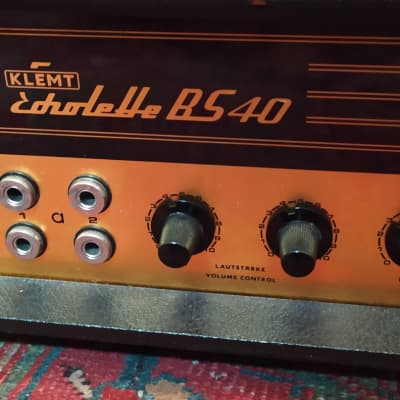 Klemt Echolette Bs 40  Black for sale