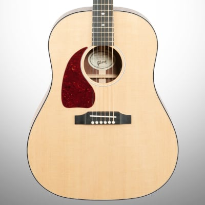 Gibson G-45 Standard Acoustic-Electric Guitar, Left-Handed (with Case), Antique Natural