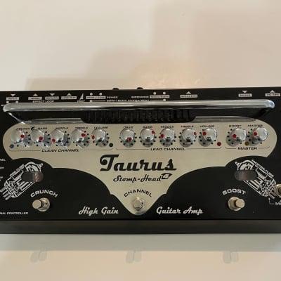 Taurus Stomp-head 4.SL High Gain Black/silver excellent tube tones.  Killer metal sounds. for sale