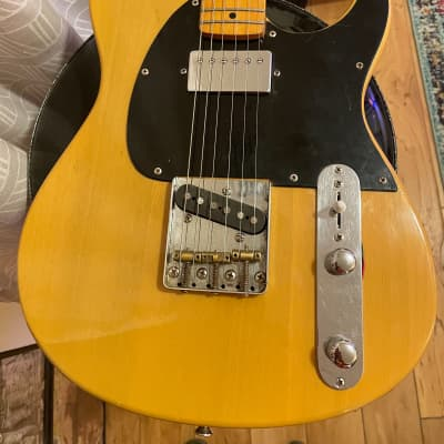 Peavey Generation EXP See-thru Blonde Rare Micawbre Tele Guitar KEEF for sale