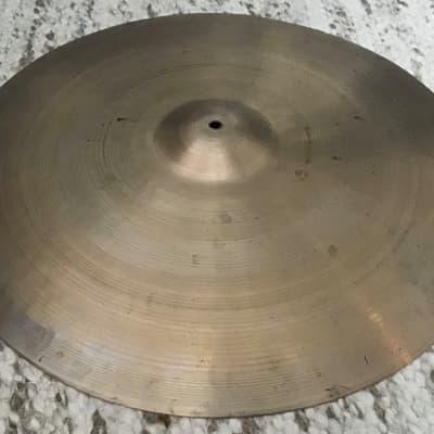 """A. Zildjian 23"""" Transition Stamp Ride Cymbal 1946 - 1953"""