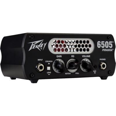Peavey 6505 Piranha 20W Tube Hybrid Guitar Amp Head Regular Black
