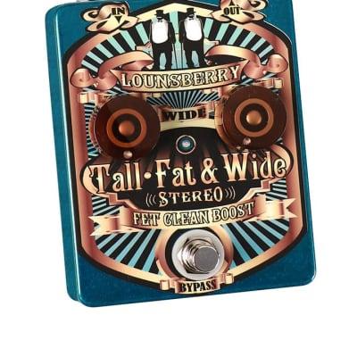 "Lounsberry Pedals ""Tall, Fat & Wide"""