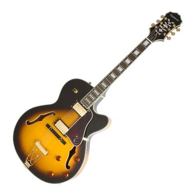 Epiphone Joe Pass Emperor II Pro Electric Guitar - Vintage Sunburst for sale