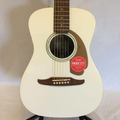 Fender Malibu Player Acoustic-Electric Guitar Arctic Gold Customer Return