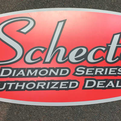 Schecter Diamond Series Dealer Banner