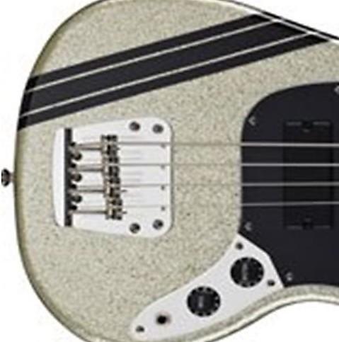 Racing Stripes Black Sticker Vinyl Guitar Bass Reverb