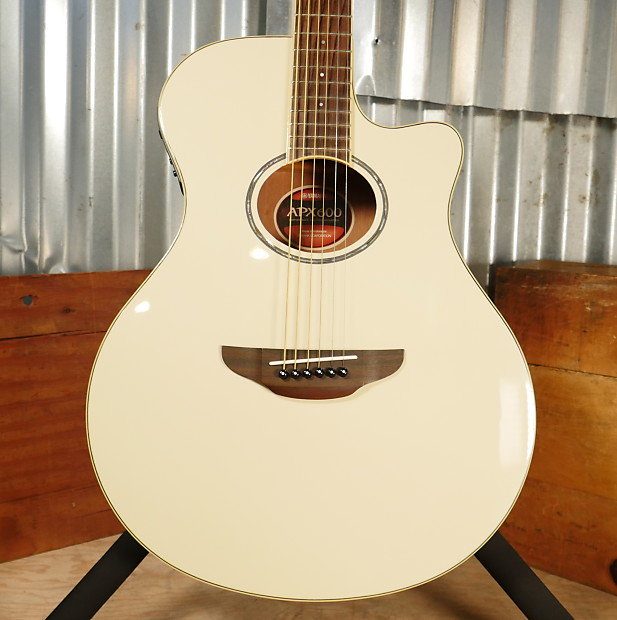 Yamaha Acoustic Guitar Apx 600 Vw Vintage White From Japan Acoustic Electric Guitars