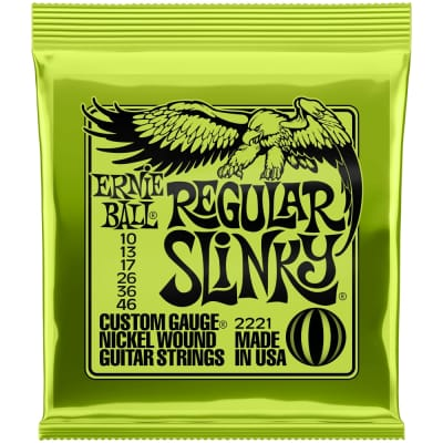 Ernie Ball Regular Slinky Nickel Electric 2221 .010-.046