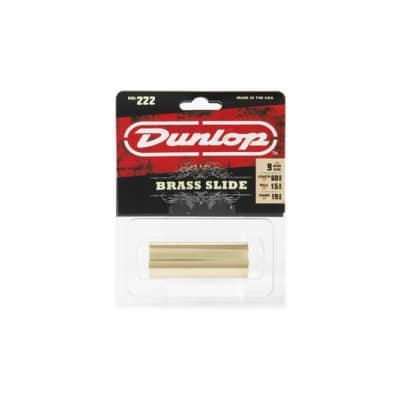 Dunlop 222 SI Brass Slide Medium