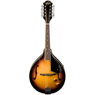 New Oscar Schmidt OM10ETS A-Style Acoustic Electric Mandolin, Tobacco Sunburst for sale