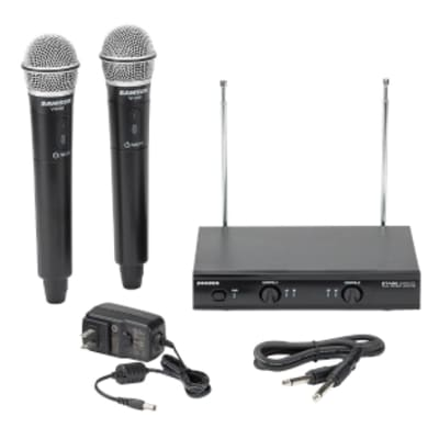 SAMSON STAGE 200 DUAL-CHANNEL HANDHELD VHF WIRELESS SYSTEM (CHANNEL A)