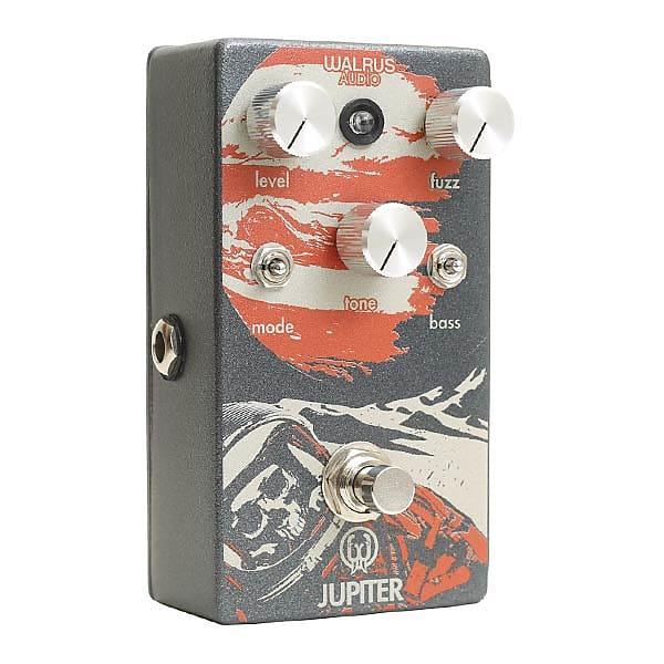Walrus Audio Jupiter V2 Multi-Clip Fuzz Effects Pedal