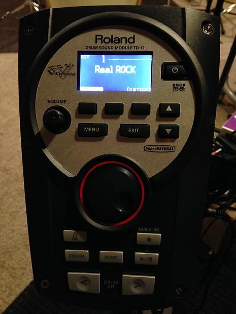 roland drum sound module td 11 manual