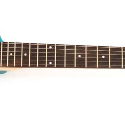 Hofner Shorty Electric Travel Guitar - Blue for sale