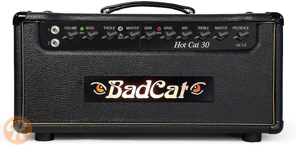 bad cat hot cat 30 30 watt guitar amp head reverb. Black Bedroom Furniture Sets. Home Design Ideas