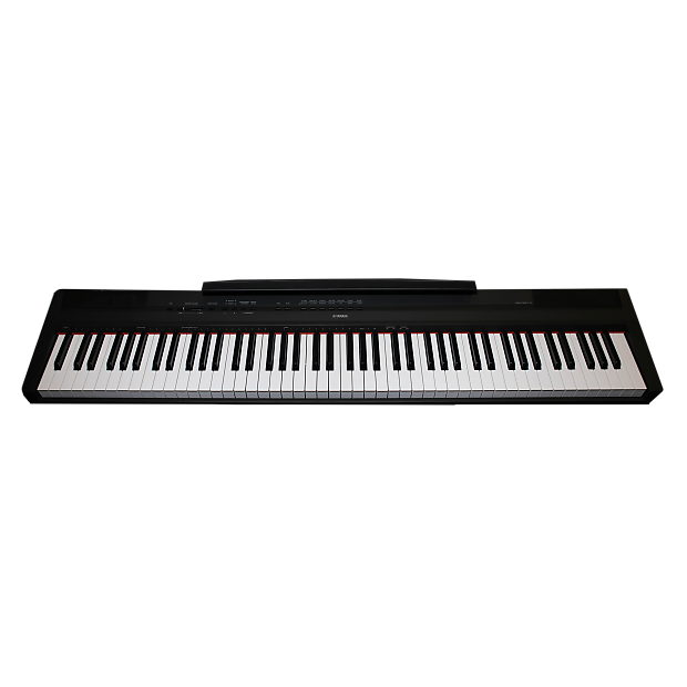 yamaha p 115 p115b 88 key weighted action digital piano. Black Bedroom Furniture Sets. Home Design Ideas