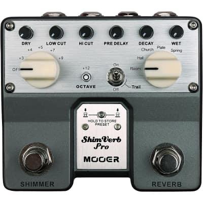 Mooer ShimVerb Pro Reverb Effects Pedal Regular