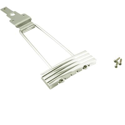 Kluson #6 Trapeze Tailpiece for archtop guitar Chrome