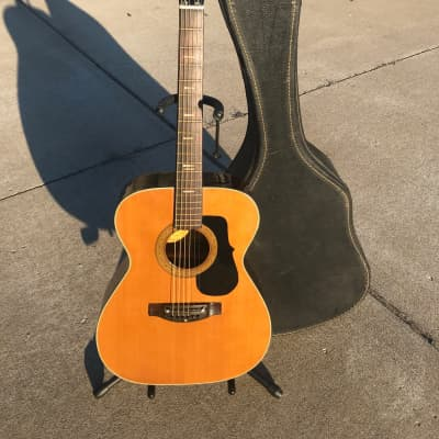 Vintage 60s Cameo FS-6 Natural Acoustic Guitar for sale