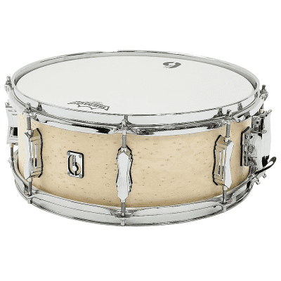 "British Drum Company Lounge Series 14x5.5"" 8-Lug Mahogany / Birch Snare Drum"
