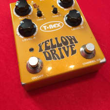 T-Rex Yellow Drive Dual Channel Distortion 2000s