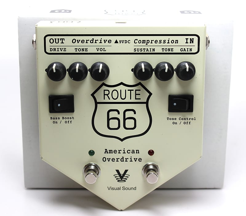 used visual sound route 66 american overdrive very good. Black Bedroom Furniture Sets. Home Design Ideas