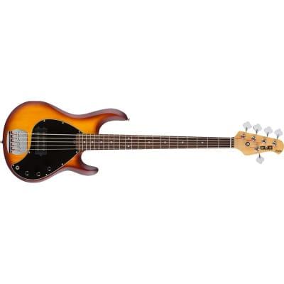 Sterling Ray5 Sub Bass, Vintage Sunburst Satin for sale