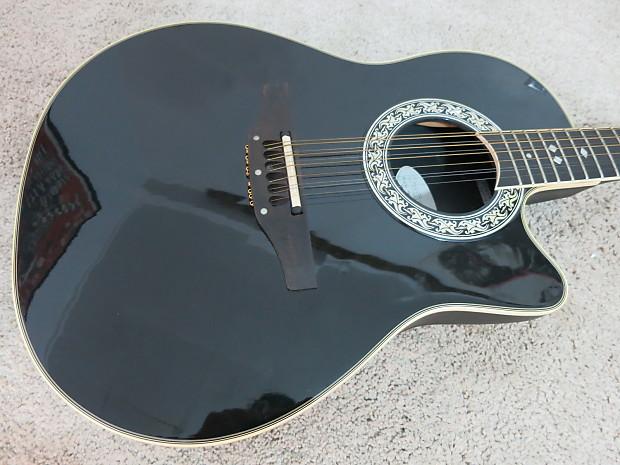 ovation 1866 legend 12 string acoustic electric guitar usa reverb. Black Bedroom Furniture Sets. Home Design Ideas